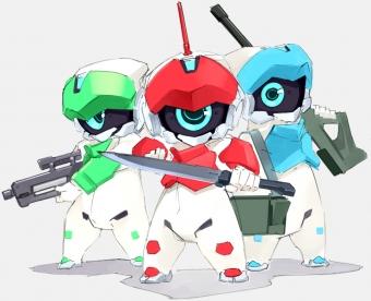 ロボット三兄弟