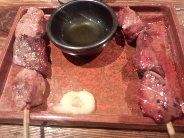 地鶏レバー塩・タレ