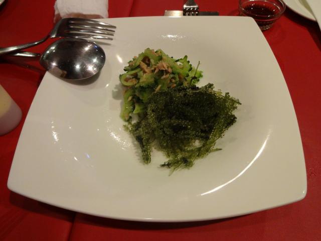 海ブドウのサラダ