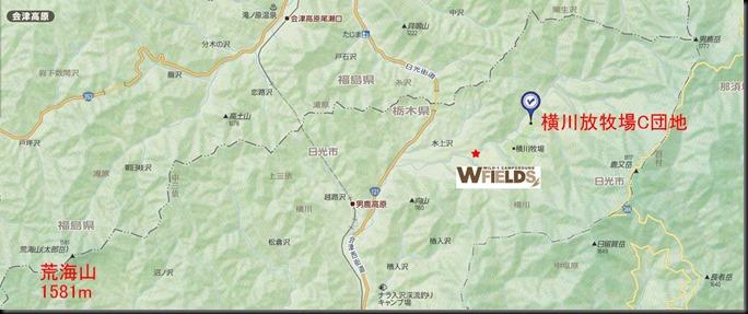 横川放牧場地形図01