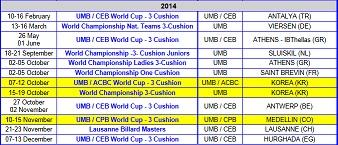 2014UMBスケジュール