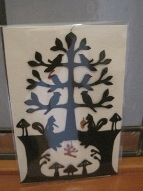 木と木の子木の実アミュレット