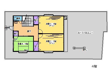 メゾン美絵4F