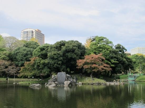 小石川後楽園 ほうらい島