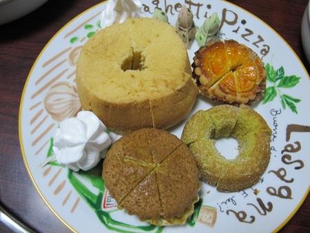 パン、シフォンケーキ、ドーナツ等