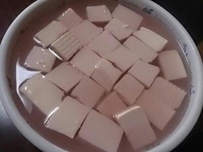 豆腐の岩下汁漬け