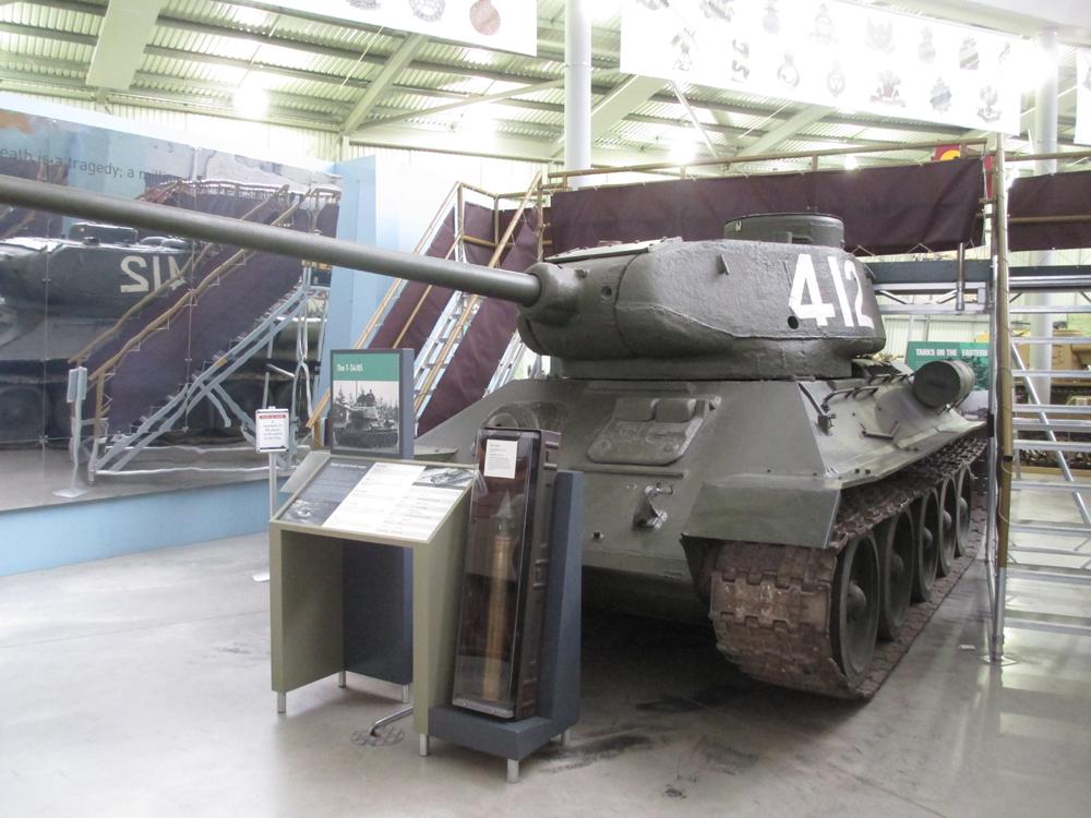 ボービントン戦車博物館 008