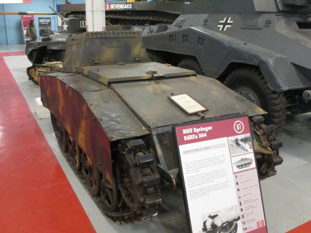 ボービントン戦車博物館 072