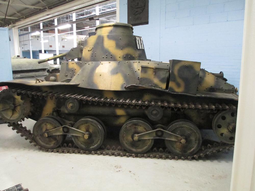 ボービントン戦車博物館 101-3