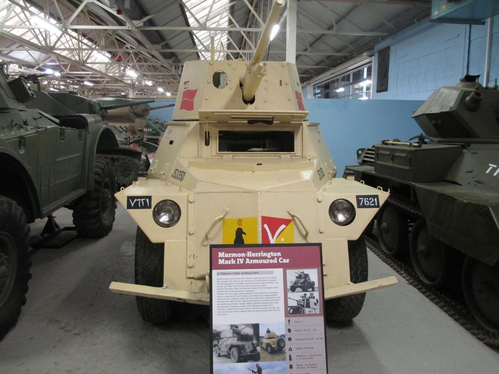 ボービントン戦車博物館 107