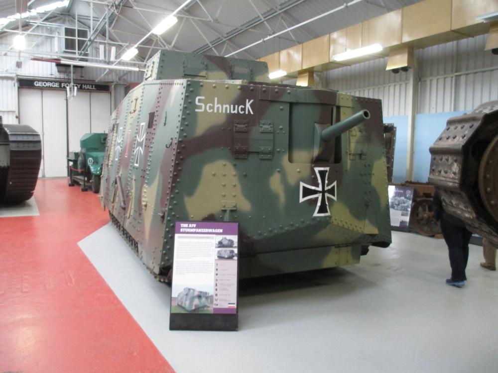 ボービントン戦車博物館 121-2