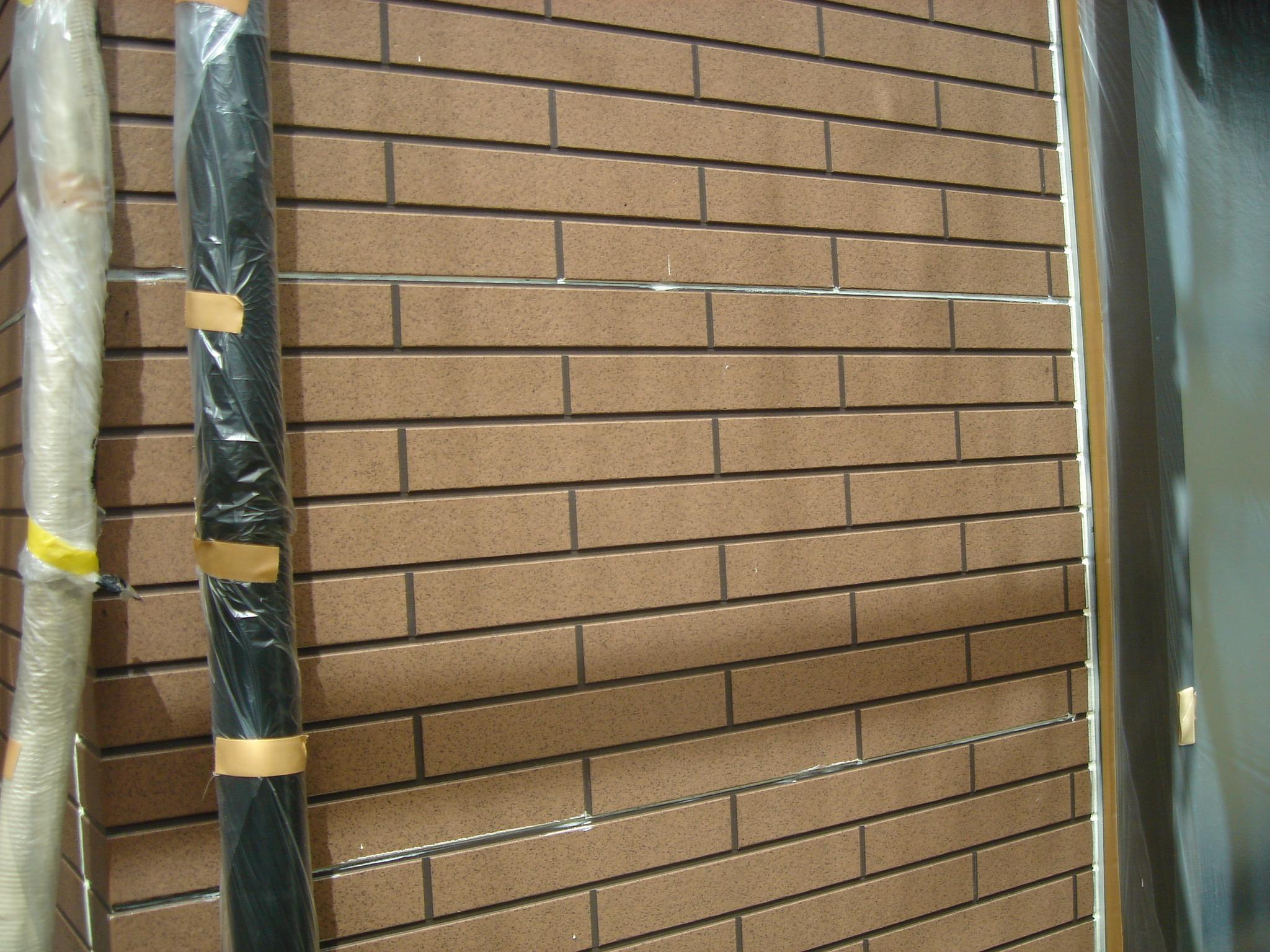 1Fサイディング壁施工前写真