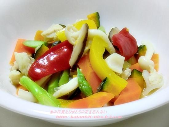 鶏ヤゲン軟骨と彩り野菜のビネガー煮♪