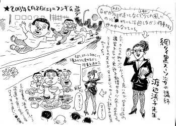 2013年6月8日(土)のフシギな夢改