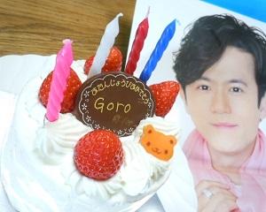 goroケーキ
