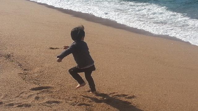 坊ちゃんと海