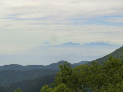 富士山とミナミアルプス