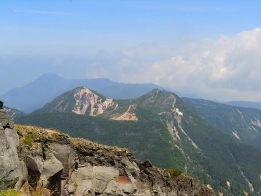 北八ヶ岳の山並み