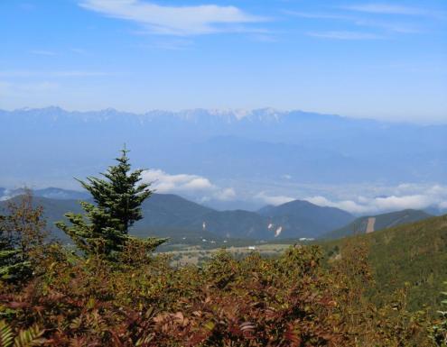 鹿島槍ヶ岳から白馬三山