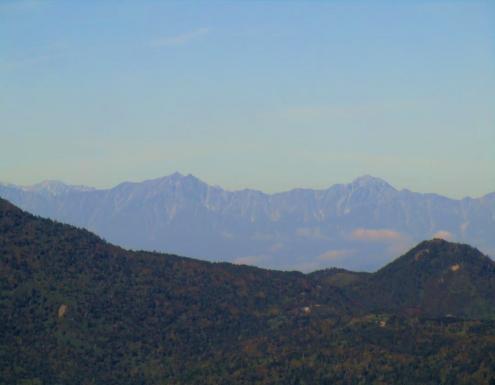 鹿島鑓と五竜岳