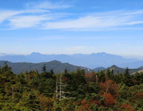 高妻山から妙高山