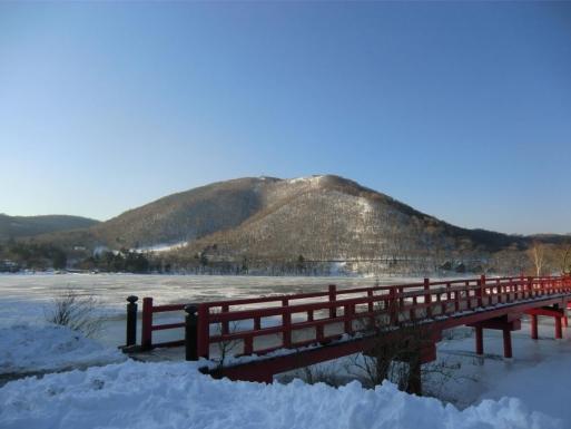 啄木鳥橋から地蔵岳