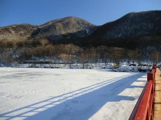 啄木鳥橋から黒檜山