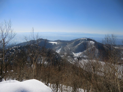 地蔵岳、小沼、長七郎山