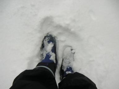 長靴履いて