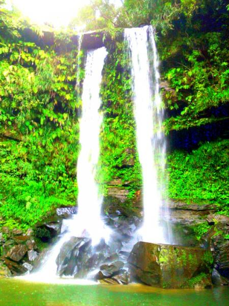 エクストリーム神秘の滝