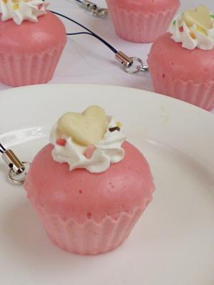 ふわふわカップケーキ