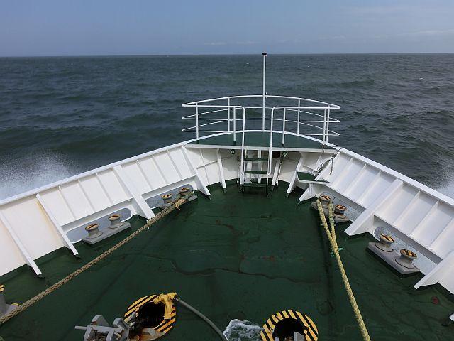 カワセミハイスピード 島とBORG...