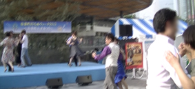 タンゴ・リブレ有楽町駅前イベント4