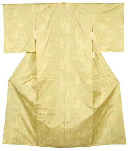 単衣正絹紬着物