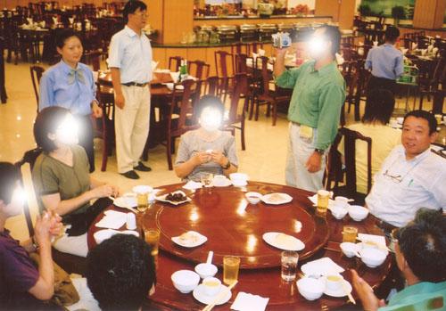 上海 晩飯