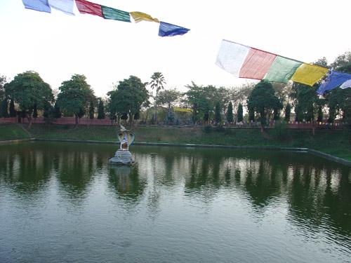 ムチャリンダ竜王の池