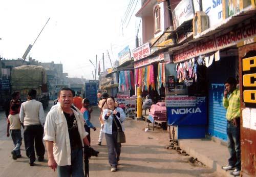 ネパール国境
