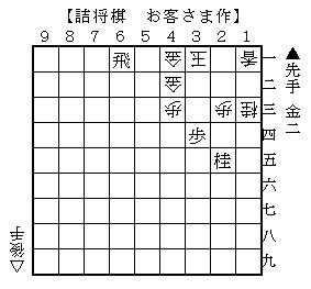 8月12日(月)詰将棋