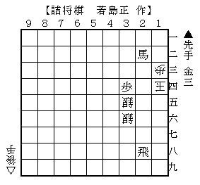 2014年1月15日(水)詰将棋