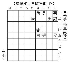 2014年1月17日(金)詰将棋