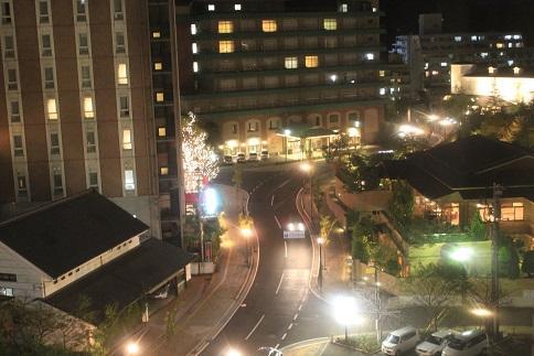道後の夜景