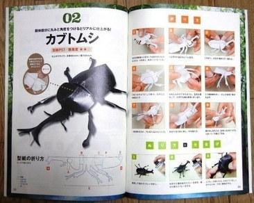 ハート 折り紙 カブトムシ 折り紙 折り方 : kiriorigami.blog.fc2.com