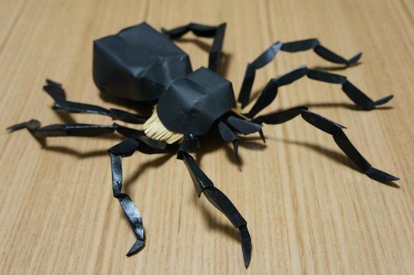 簡単 折り紙 折り紙 蜘蛛 : kiriorigami.blog.fc2.com
