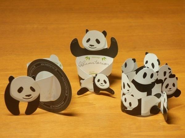 すべての折り紙 パンダ 折り紙 : パンダのkamiterior(カミテリア ...