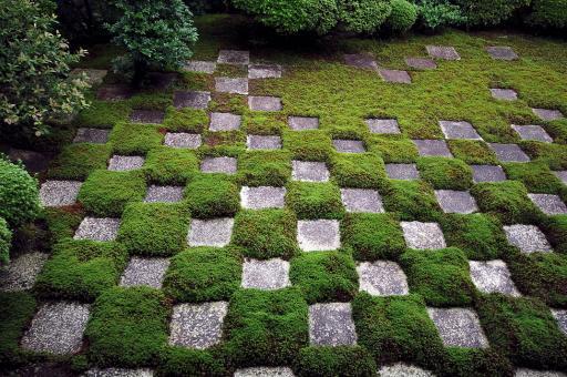 東福寺の重森三玲のお庭