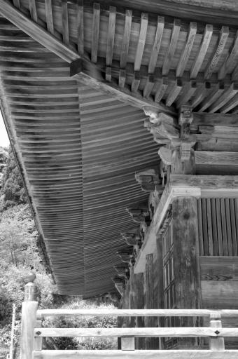 清水寺根本堂の屋根の組み物
