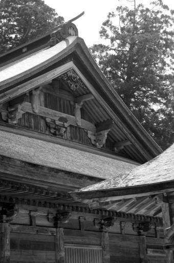 清水寺根本堂の屋根