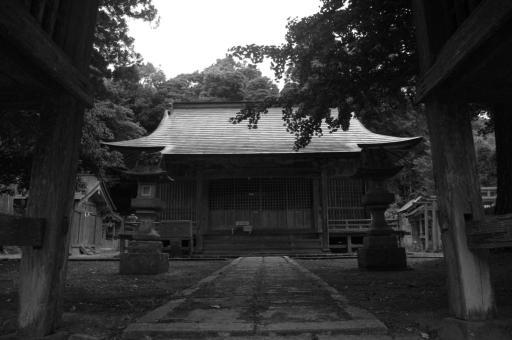 多倍神社拝殿