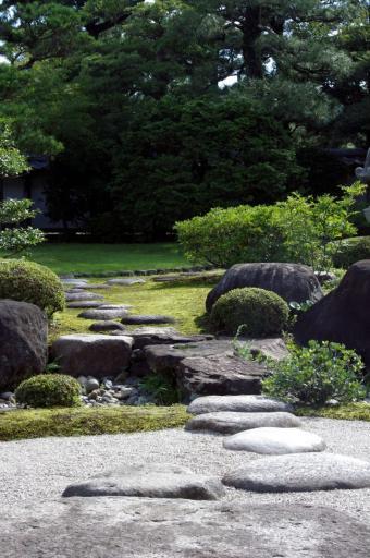 江角家のお庭