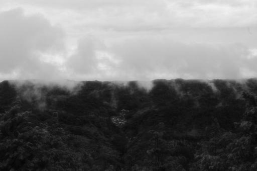 雨上がりの石見銀山